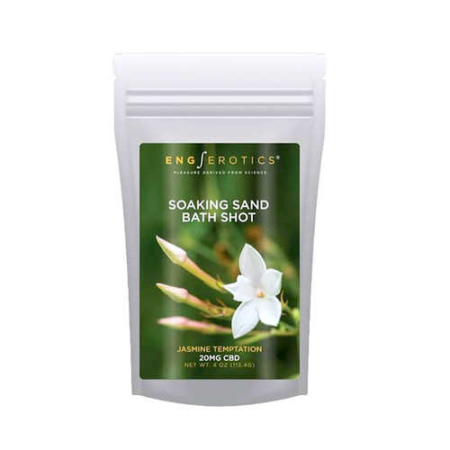 Buy the EngErotics Soaking Sand Bath Shots Jasmine Temptation (CBD 20mg) in 4 oz - EngErotics