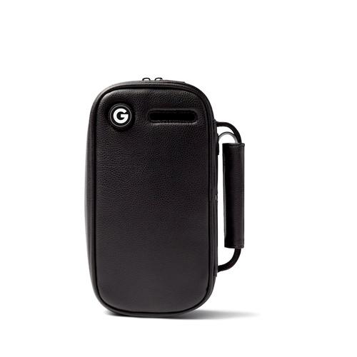 Buy the UV Sterilizer Bag Toy Sanitizing Cleaner & Vegan Leather Storage Container in Black - GIDDI