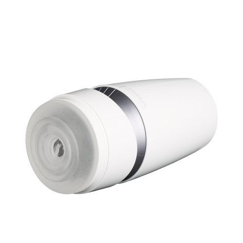 Buy the Aero Silver Ring Adjustable Dial-Operated Spiraling Suction Control Reusable Male Masturbator Stroker -  Tenga Made in Japan