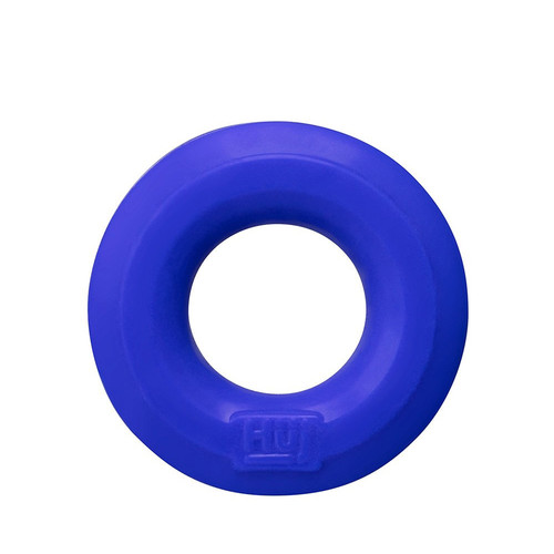 Buy the hünkyjunk Huj C-Ring Plus Silicone Power Cock Ring & Ball Ring ballstretcher in Cobalt Blue - Blue Ox Designs OXBALLS