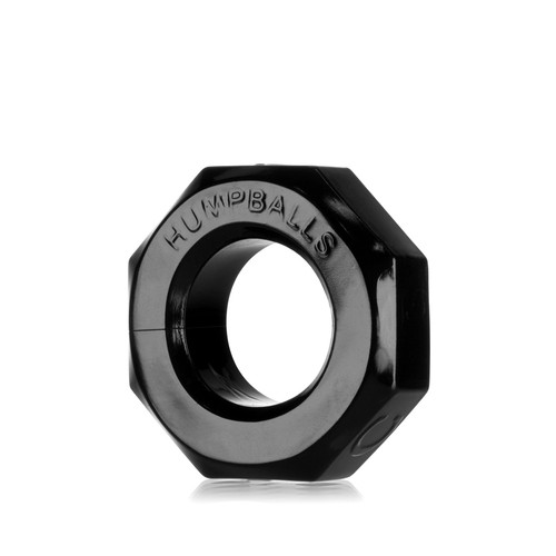Buy the HumpBalls Soft Stretchy Cockring & Ball Stretcher in Black stackable rings - OxBalls Blue Ox Designs