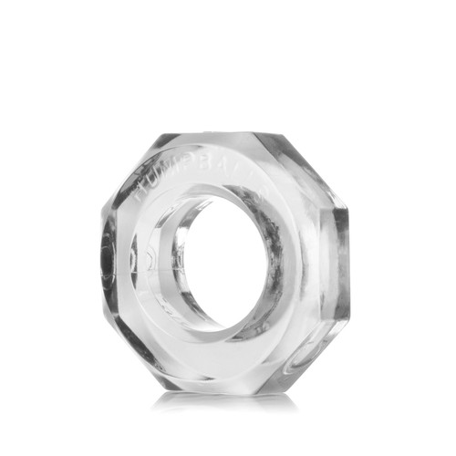 Buy the HumpBalls Soft Stretchy Cockring & Ball Stretcher in Clear stackable rings - OxBalls Blue Ox Designs
