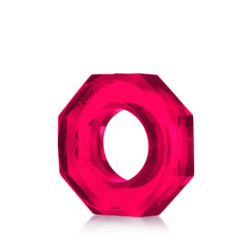 Buy the HumpBalls Soft Stretchy Cockring & Ball Stretcher in Hot Pink Clear stackable rings - OxBalls Blue Ox Designs