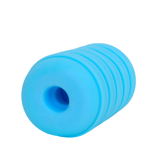 Buy The Taffy Puller Pleasure Sleeve Stroker Male Masturbator in Blue - Rock Candy Sex Toys