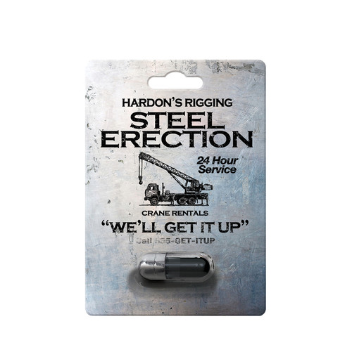 Buy the Hardon's Rigging Steel Erection Male Sexual Intimate Supplement 1 5000mg Capsule - SOS Distribution