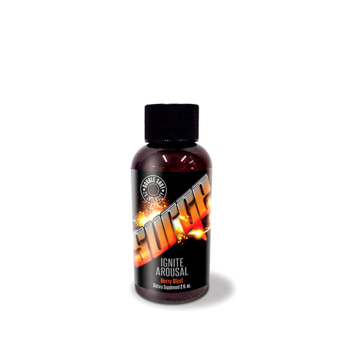 Buy the Surge For All Berry Blast Flavored Sexual Performance Supplement 2 oz Double Shot Bottle Intimate enhancer - SOS Distribution