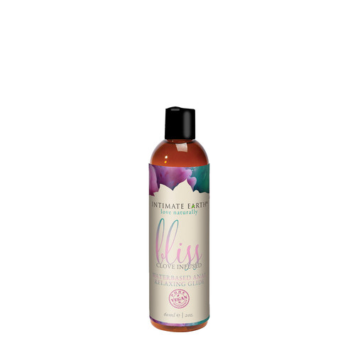 Buy the Bliss Anal Relaxing Clove Infused Glide Water-Based Lubricant in 2 oz or 60ml - Intimate Earth