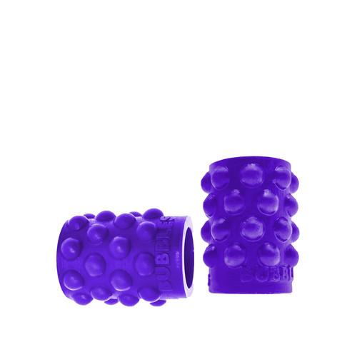 Buy the Regular Bubbles NipSuckers Liquid Platinum Silicone Nipple Suckers in Eggplant Purple - OXBALLS