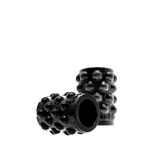 Buy the Regular Bubbles NipSuckers Liquid Platinum Silicone Nipple Suckers in Black - OXBALLS