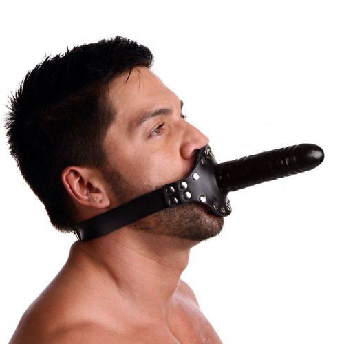 Strict Ride Me Penis Mouth Gag