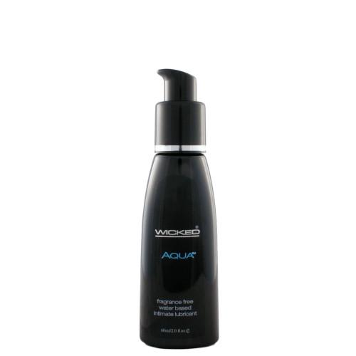 Wicked Sensual Care Aqua Fragrance-Free Water-based Lubricant 2 oz