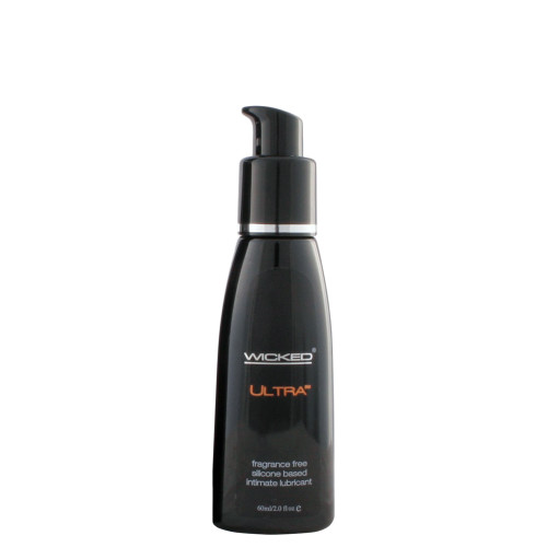 Wicked Sensual Care Ultra Fragrance-Free Silicone-based Lubricant 2 oz