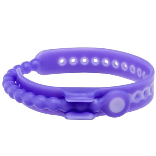 Perfect Fit Speed Shift Adjustable Erection Enhancing Cock Ring Purple