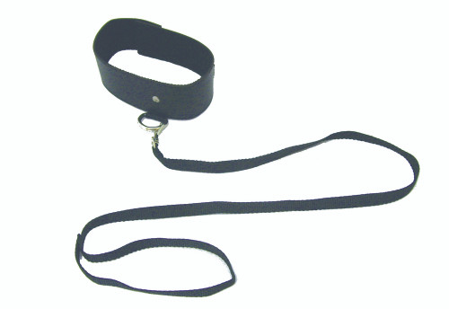 Sportsheets Sex & Mischief Series Black Leash and Collar Set