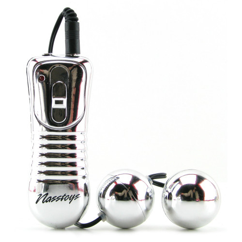 Nen-Wa Balls Vibrating Kegel Balls Silver