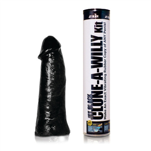 Clone A Willy Dildo Kit Jet Black with Vibe