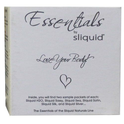 Sliquid Essentials Lube Cube 12ct Pillows