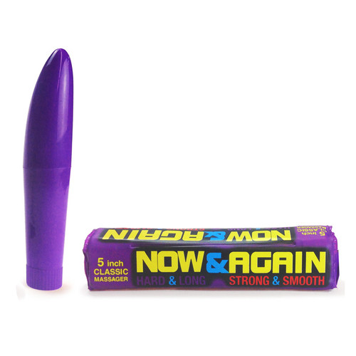 Buy the Now and Again Single Speed Mini Vibrator - Little Genie Productions