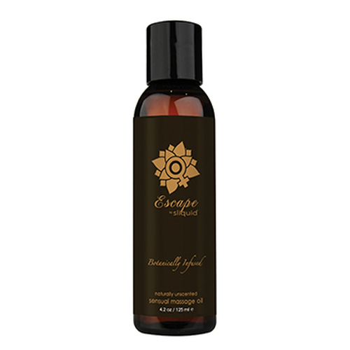 Sliquid Organics Balance Sensual Massage Oil Escape Unscented 4.2 oz
