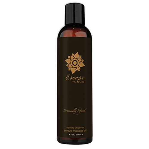 Sliquid Organics Balance Sensual Massage Oil Escape Unscented 8.5 oz
