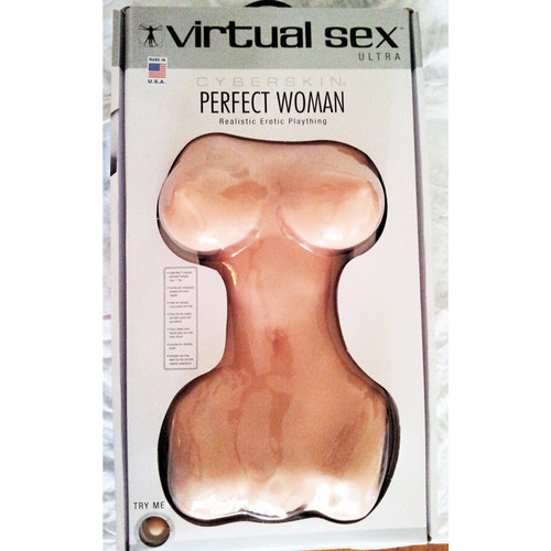 CyberSkin Virtual Sex Ultra Perfect Woman Realistic Erotic Plaything Light