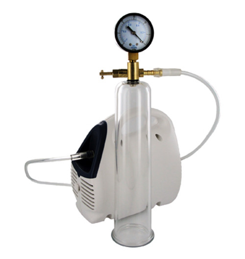 Size Matters Bionic Electric Pump with Cylinder and Gauge