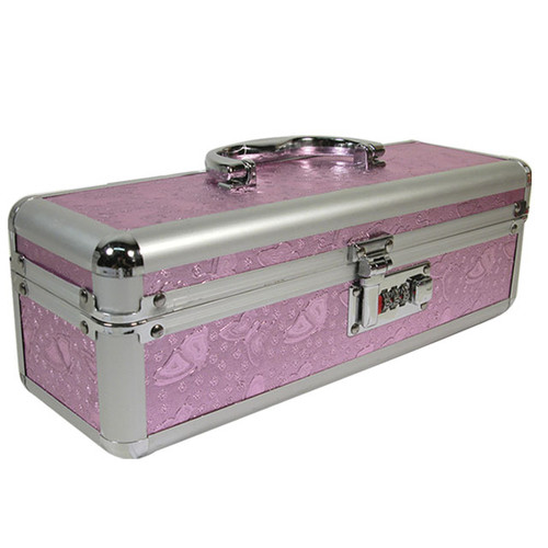 Small Lockable Vibe Case Pink