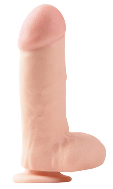 Thick Thomas Wide 7 Inch Dildo with Suction Cup Flesh