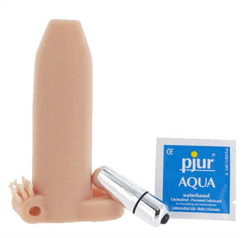 Buy the Deemun 6 inch Vibrating Penis 2 inch Girth Enhancer - DeeVa Doctor Love's