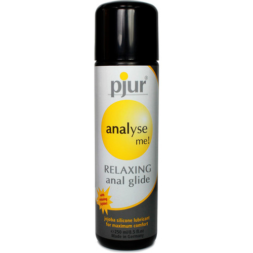 Buy Analyse Me! Glide Relaxing Silicone-based Personal Lubricant 8.5 oz or 250 mL - pjur group made in Germany
