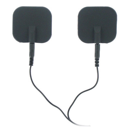 Zeus Electrosex Deluxe TENS Silicone Black Electrode Pads