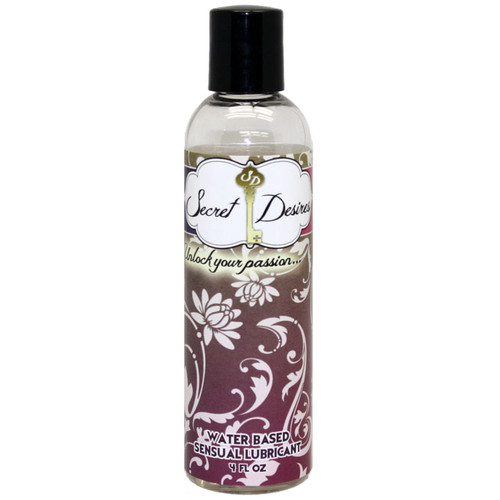 Secret Desires To Share Sensual Water Based Lube 4 oz