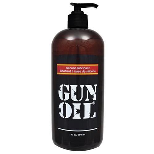 Gun Oil Silicone Lubricant 32 oz