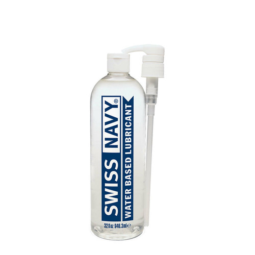 Buy the Swiss Navy Premium Water-Based Lubricant in 32 oz - MD Science Lab