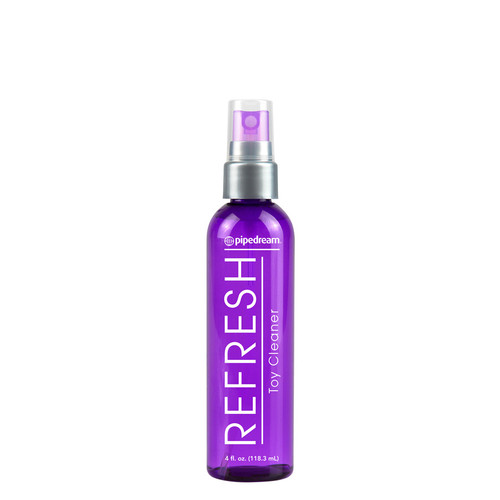 Buy the Refresh Sex Toy Cleaner Spray in 4 oz - Pipedream Toys