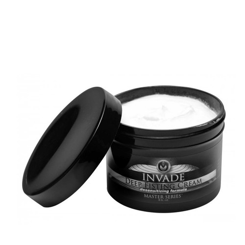 Buy the Invade Oil-based Deep Fisting Cream 8 oz - XR Brands Master Series