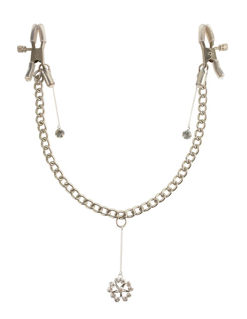 Buy the Fetish Fantasy Series Crystal Nipple Clamps - Pipedreams