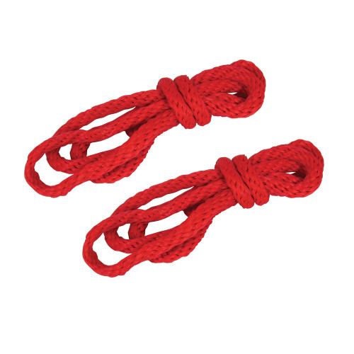 Sportsheets Sex & Mischief Silky Rope Kit Red