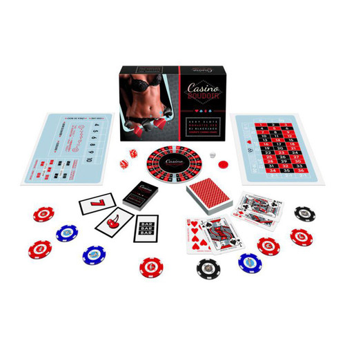 Buy the Casino Boudoir Couples Game - Kheper Games