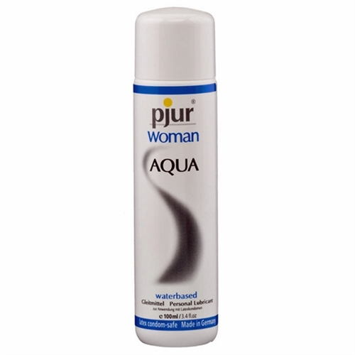 Pjur Woman AQUA Water-based Personal Lubricant 3.4 oz