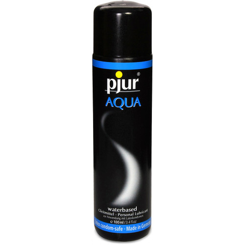 Buy the Pjur AQUA Water-based Personal Lubricant in 3.4 oz - Made in Germany