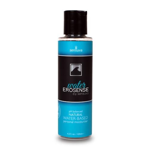 Sensuva Erosense Aqua pH-balanced Natural Water-Based Personal Moisturizer Lubricant 4.2 oz