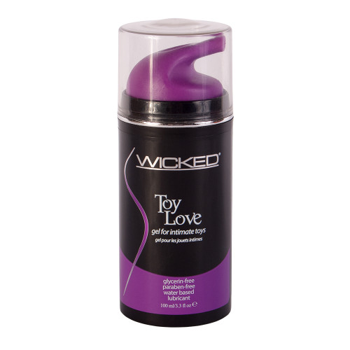 Buy the Toy Love Water-based Gel Lube for Intimate Toys 3.3 oz - Wicked Sensual Care