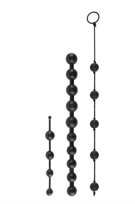 Anal Fantasy Collection Beginner's Bead Kit Black