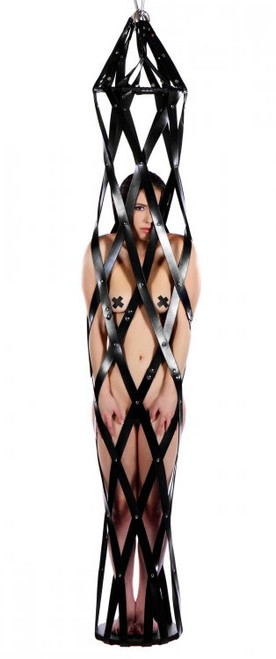 Strict Leather Hanging Leather Strap Cage