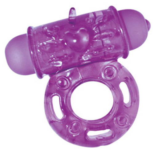 Nasstoys HerO Dynamic Scream Maker Vibrating Love Ring Purple