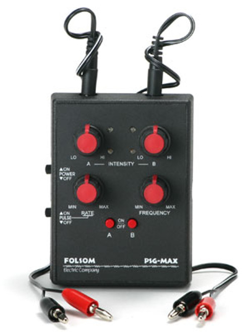 Buy the Folsom Electric PSG Max Electrosex EStimulation Pulse Signal Generator Power Box - Folsom Electric Company