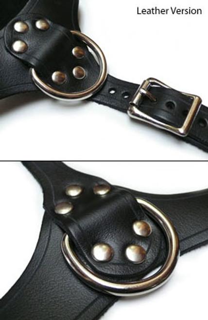 StockRoom Bust Harness Leather Black