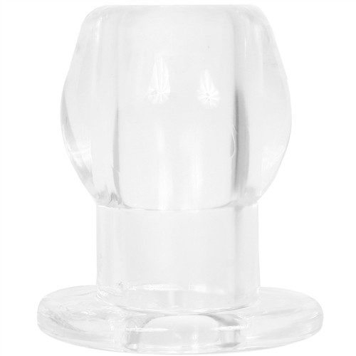 Buy the Tunnel Anal Plug Extra Large in Clear - Perfect Fit Brand