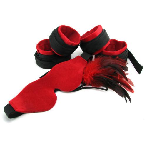 Sportsheets Sexy Slave Bondage Kit Red